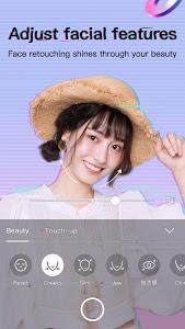 screenshot of BeautyCam version 7.5.15