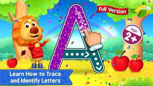 screenshot of ABC Kids - Tracing & Phonics version 1.4.4