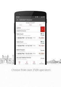 screenshot of AbhiBus Online Bus Tickets version 2.6.62
