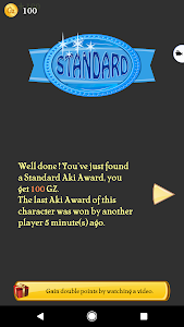 screenshot of Akinator version 6.5.2