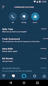 screenshot of Amazon Alexa version Varies with device