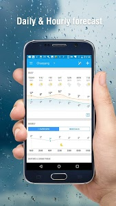screenshot of Amber Weather - Local Forecast version 3.5.1