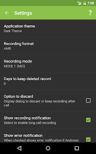 Download AndroRec Free Call Recorder 1.18 APK