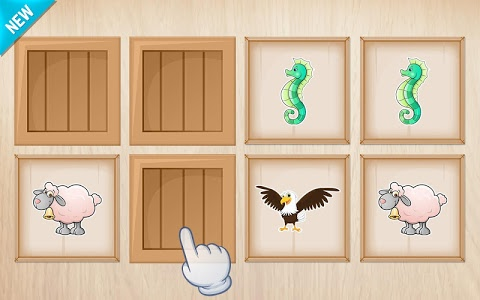 screenshot of Animals Puzzle for Kids version 2.6.0