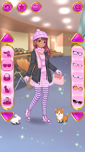 screenshot of Anime Dress Up - Games For Girls version 1.1.5