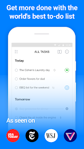 screenshot of Any.do: To-do list, Calendar, Reminders & Planner version 4.10.3.4