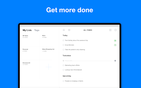 screenshot of Any.do: To do list, Calendar, Reminders & Planner version 4.13.0.14