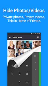 screenshot of App Hider- Hide Apps Hide Photos Multiple Accounts version 1.9.1a