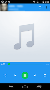 screenshot of Ares MP3 Music Player version 1.0