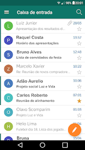 screenshot of BOL Mail Novo version 1.1.7