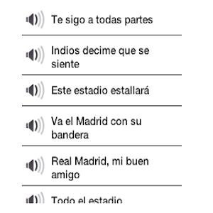 Download Barcelona vs Real Chants 1.0 APK