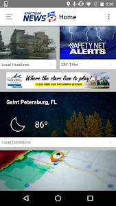 screenshot of Spectrum Bay News 9 version 4.0.831
