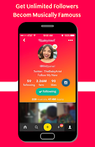 Download Become Famous For Musically Likes & Followers 0.0.1 APK