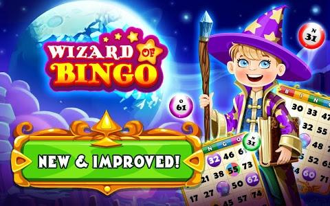 screenshot of Wizard of Bingo version 6.5.8