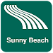 Download Sunny Beach Map offline 1.80 APK