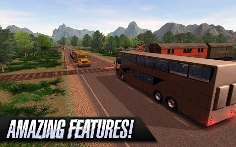 screenshot of Bus Simulator 2015 version 1.8.2