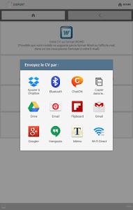 screenshot of CV Word gratuit by 1cv1-mobile version 0.0.6
