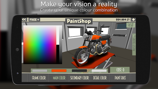 screenshot of Cafe Racer version Varies with device