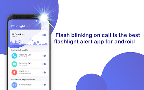 Download Calling flashlight - Flash blinking on call 1.0.8 APK