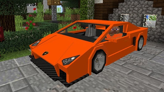 Download Cars Mod for Minecraft MCPE 2.7 APK