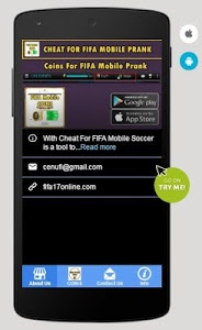 Download Coins For FIFA Mobile Prank 1.0 APK