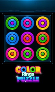 screenshot of Color Rings Puzzle version 2.3.8