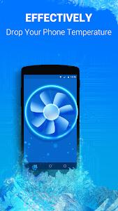 screenshot of Cooling Master-Phone Cooler version 3.5.78