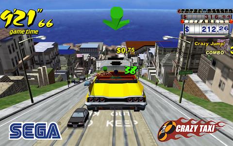 screenshot of Crazy Taxi Classic version 3.1