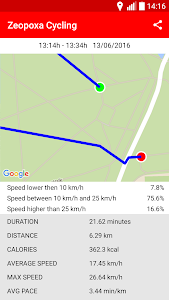 screenshot of Cycling - Bike Tracker version 1.0.30