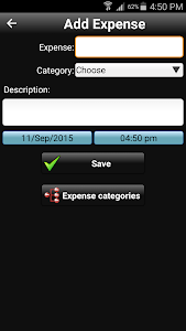 screenshot of Daily Expenses version 2.5.27