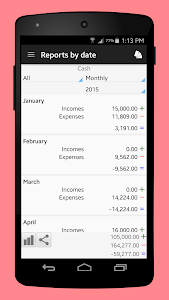 screenshot of Daily Expenses 3 version 3.2.03