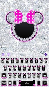 Download Diamond Pink Minnies Keyboard 1.0 APK