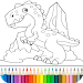 Download Dino Coloring Game 9.7.2 APK