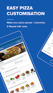 screenshot of Domino's Pizza Online Delivery version 6.3.1