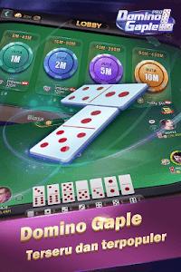 screenshot of Domino Gaple Pro version 1.1.0