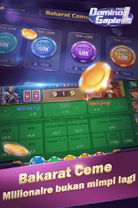 screenshot of Domino Gaple Pro version 1.6.6