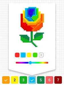 screenshot of Draw.ly - Color by Number Pixel Art Coloring version 1.0.18