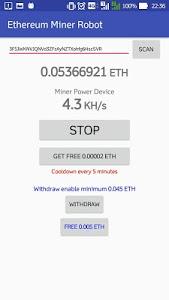 Download ETH Miner Robot 1.1.3 APK
