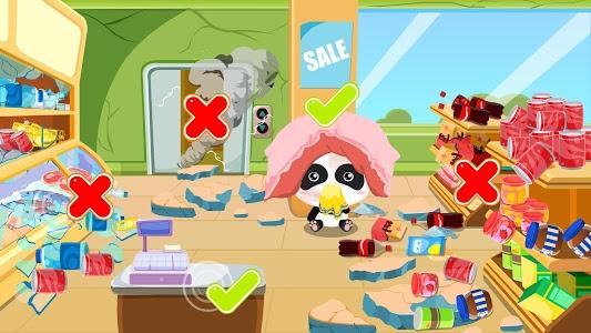 screenshot of Little Panda Earthquake Safety version 8.30.10.00