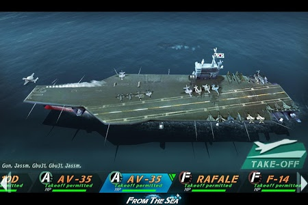 screenshot of FROM THE SEA version 1.2.4