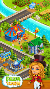 Download Farm Town: Happy village near small city and town 2.32 APK