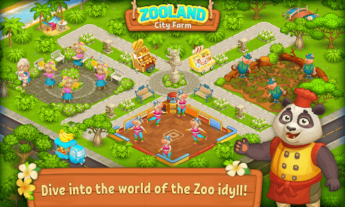screenshot of Farm Zoo: Happy Day in Animal Village and Pet City version 1.37