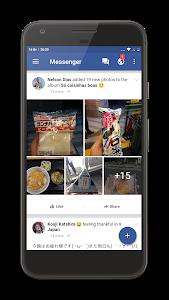 screenshot of Fast Messenger-Lite Messenger version 1.1