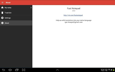 Download Fast Notepad 2.0.9 APK