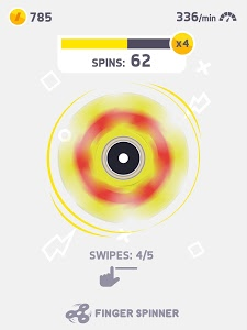 screenshot of Fidget Spinner version 1.3