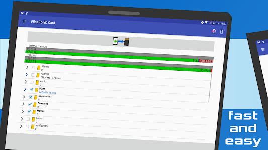 screenshot of Files To SD Card version 1.58