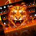 Download Fire Tiger Keyboard Theme 10001010 APK
