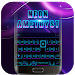 Download Black Neon 3D Keyboard Theme 72.0 APK