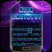 Download Black Neon 3D Keyboard Theme 72.0 APK