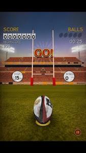 screenshot of Flick Kick Rugby Kickoff version 1.7.0
